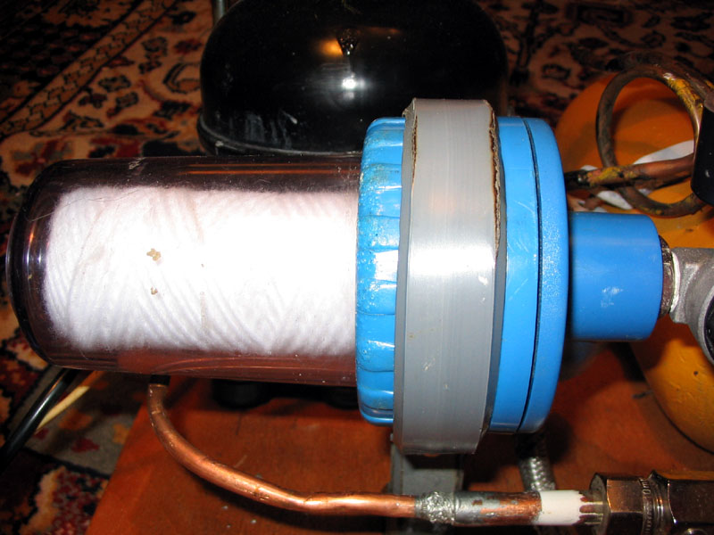 Как сделать фильтр от компрессора